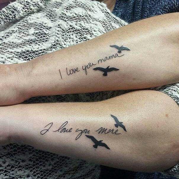 tattoo Mama tochter
