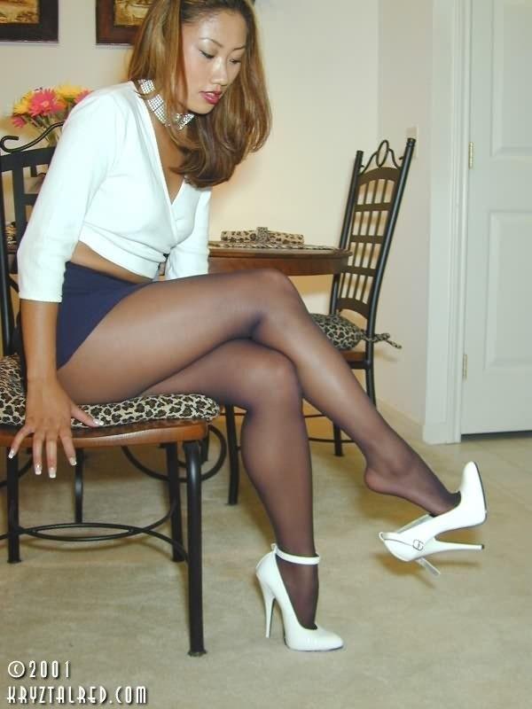 nylon legs Sexy