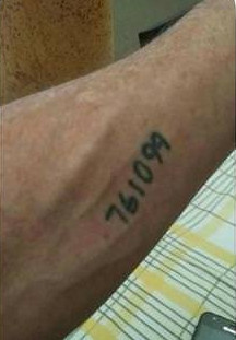 arm spruch Tattoo frau