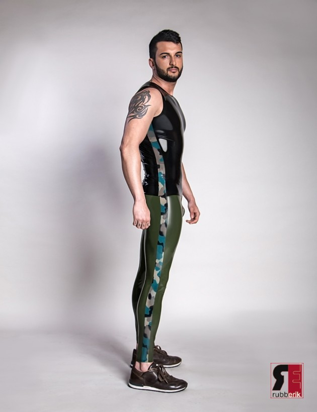 leggings herren Latex