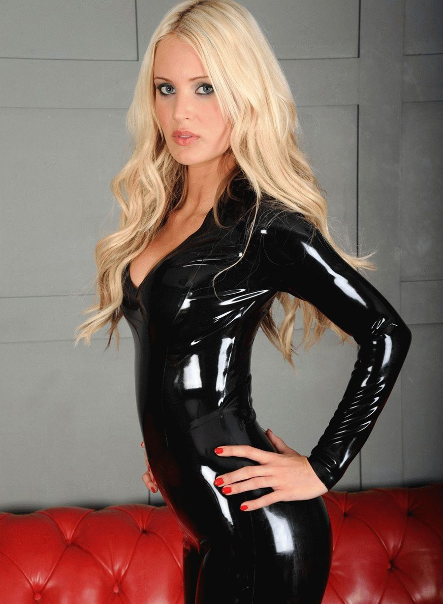 Sexy girl latex
