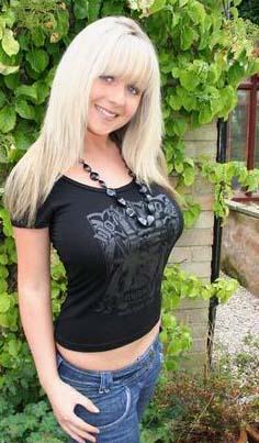 sex Sexy blondine