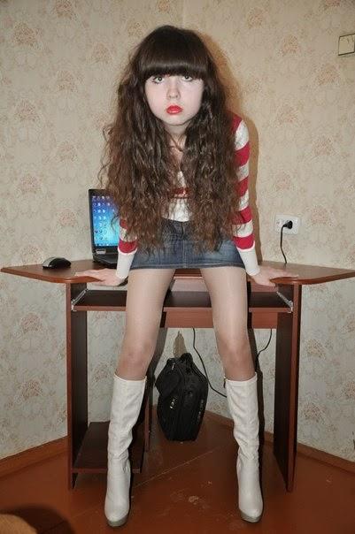 Russian amateur teen