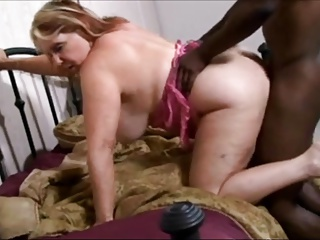 Blonde oma nackt