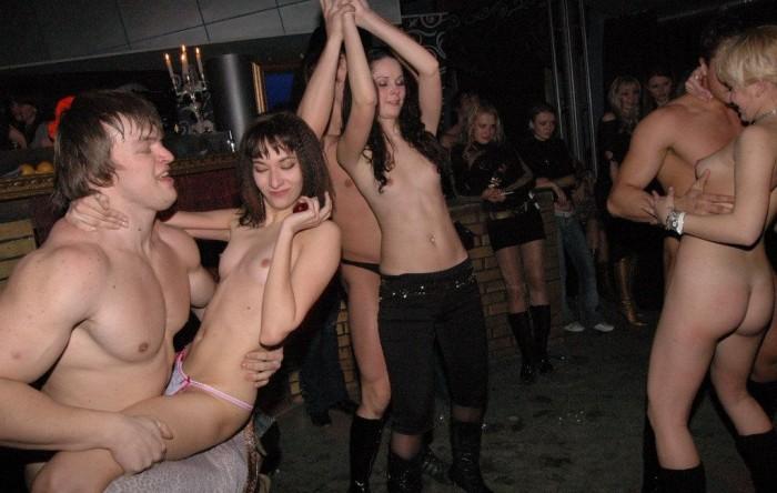 Drunken russian girls