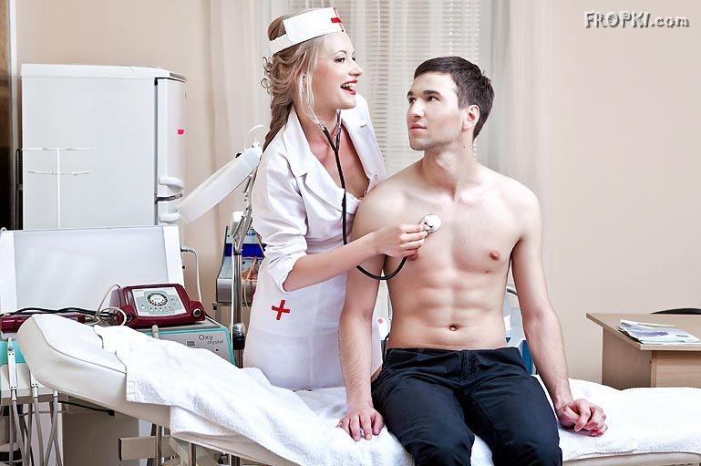 nurse porn Blonde