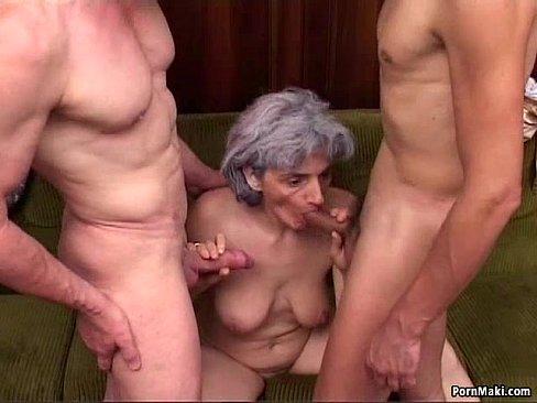 porno Granny dp