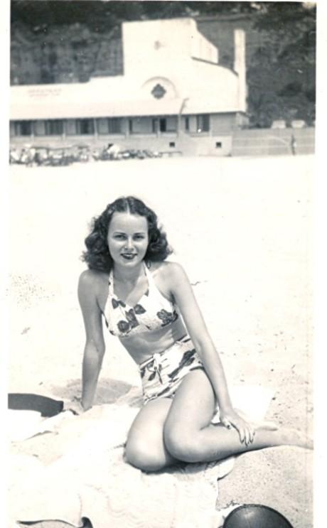 porn Vintage swimsuit