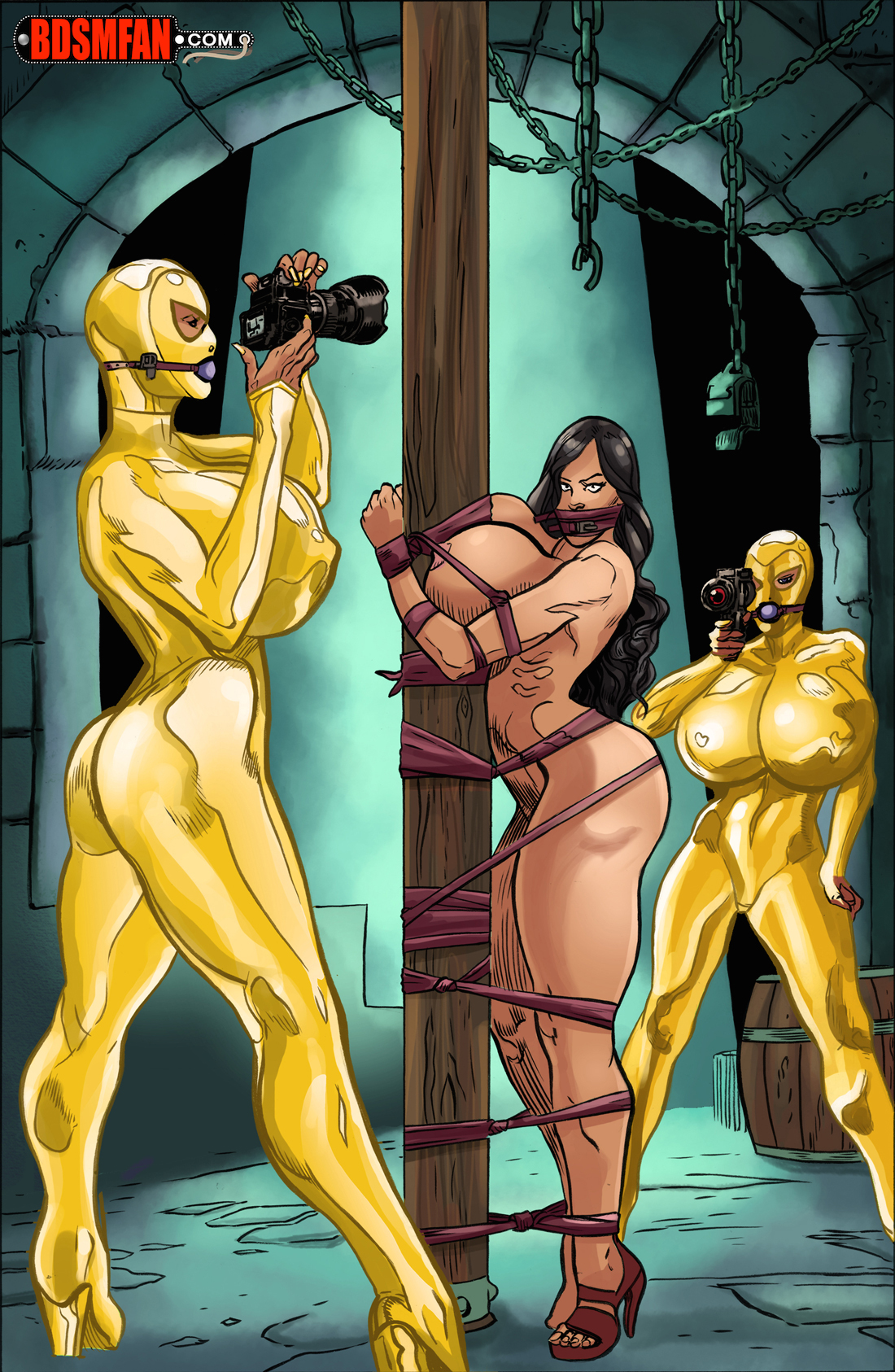 Bdsm comic art