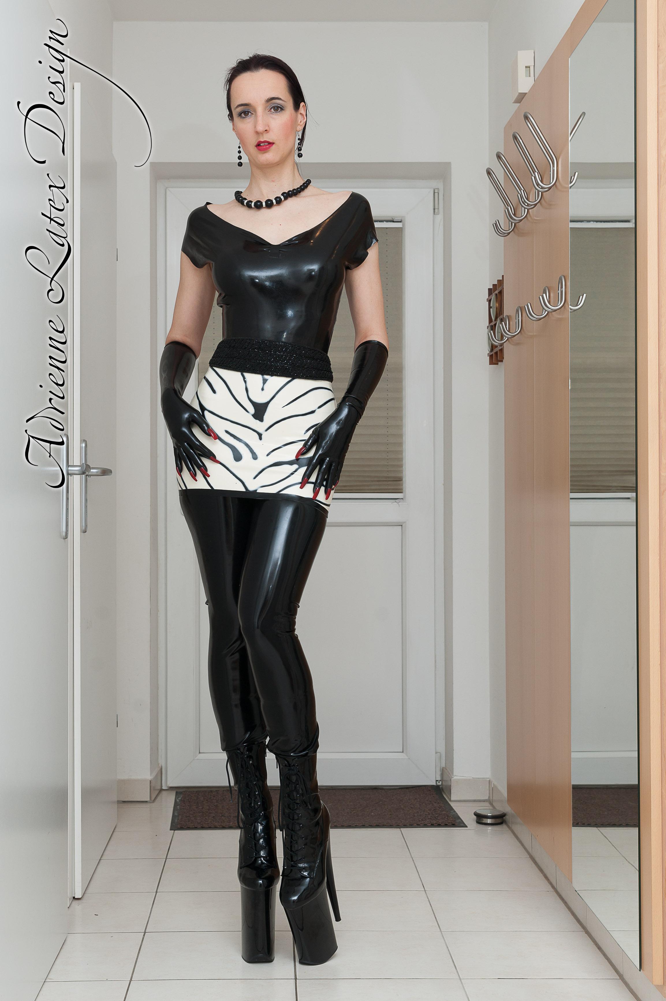 fashion design Latex