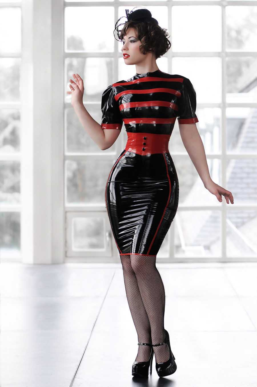 in latex Babes