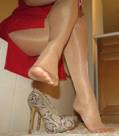 fetish Pantyhose foot