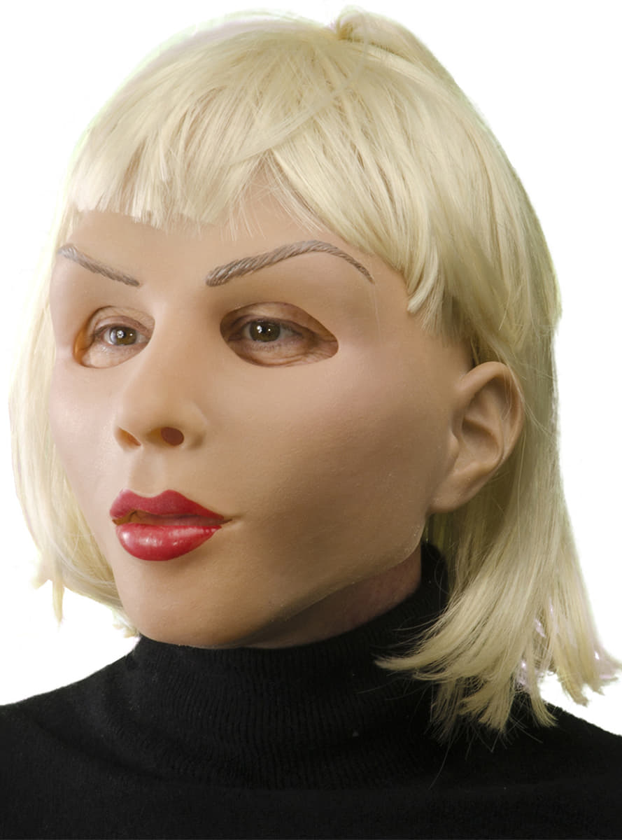 Latex maske frau