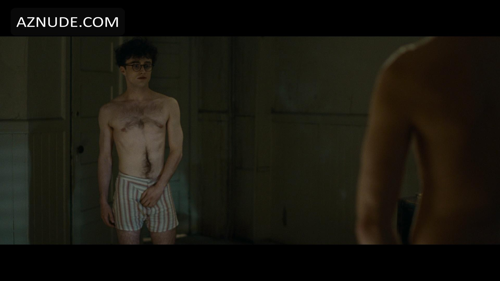radcliffe naked Daniel