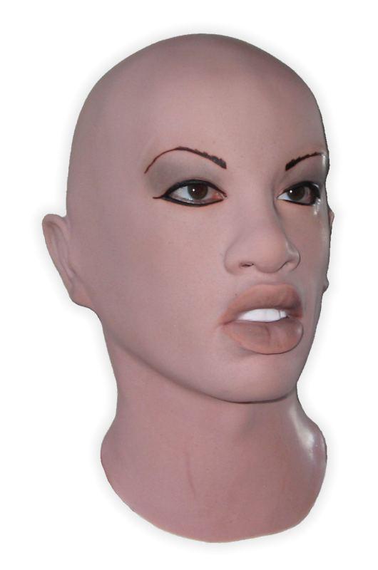 frau Latex maske