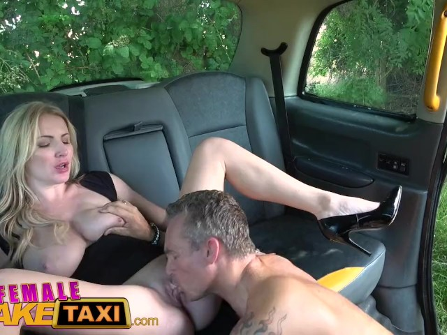 squirt Fake taxi