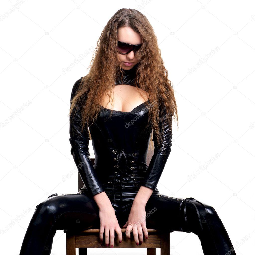 in latex Frau