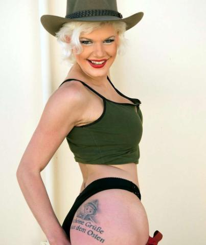 tattoo Melanie müller