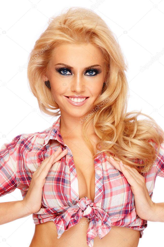 videos Sexy blonde