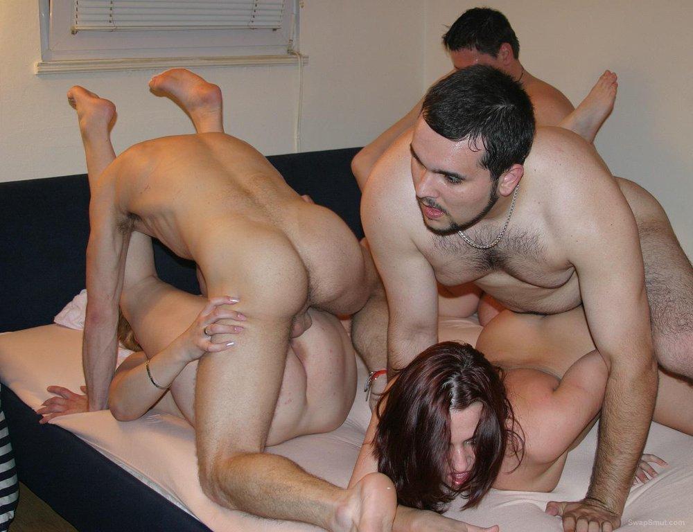 Swinger club sex